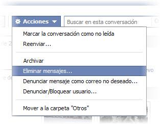XXCómo borrar para siempre los mensajes de tu Facebook, incluso los archivados