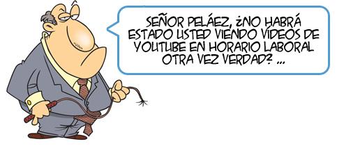 ¡Prohibido ver YouTube en el curro!