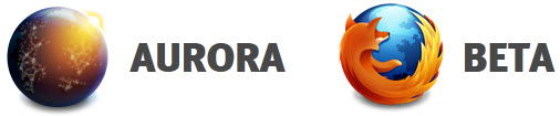 Como pasar de Beta a Aurora y viceversa