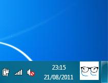 imagen en la barra de tareas